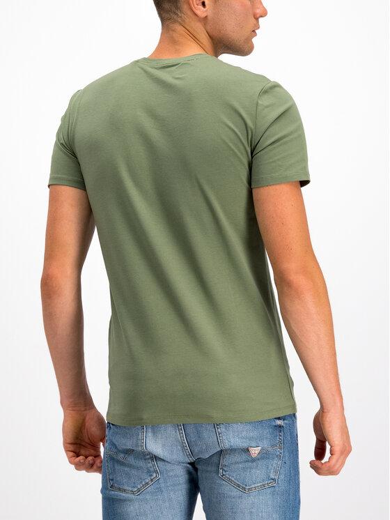 Guess Guess T-Shirt M94I46 J1300 Grün Slim Fit