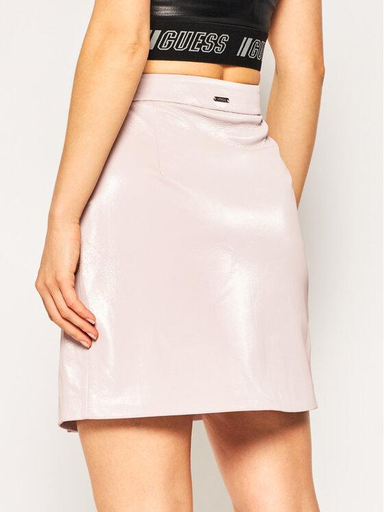 Guess Guess Trapecijos formos sijonas Halah W01D20 WCKC0 Rožinė Regular Fit