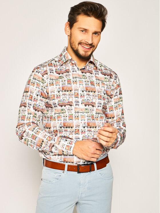 Eton Marškiniai 100000768 Spalvota Slim Fit