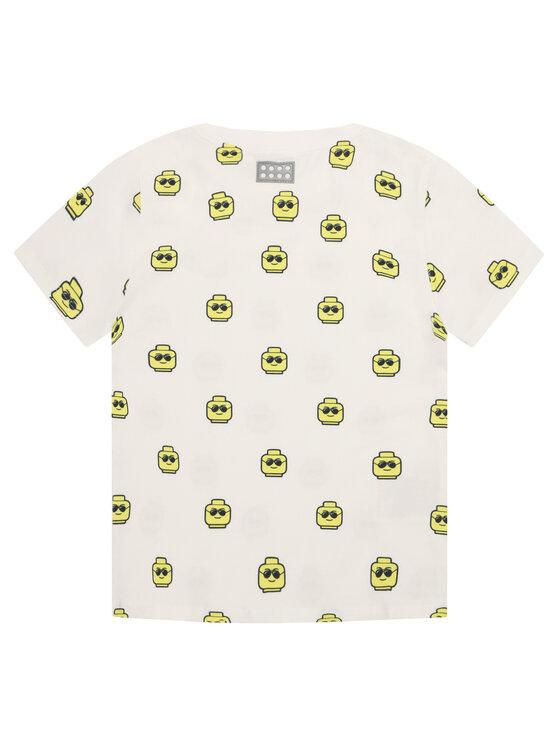 LEGO Wear LEGO Wear T-Shirt LETobias 301 22350 Biały Regular Fit