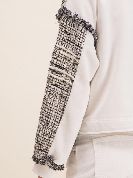 Pinko Pinko Bluza Cassata 20201 BLK01 1G14PS 7877 Biały Regular Fit
