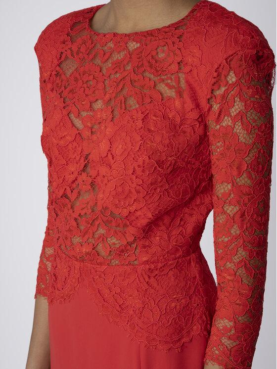 Elisabetta Franchi Elisabetta Franchi Koktejlové šaty AB-773-92E2-V369 Červená Regular Fit