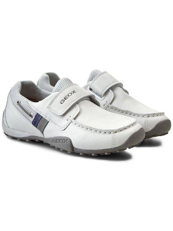 Geox Geox Обувки J Snake Moc A J5216A 04314 C0284 Бял
