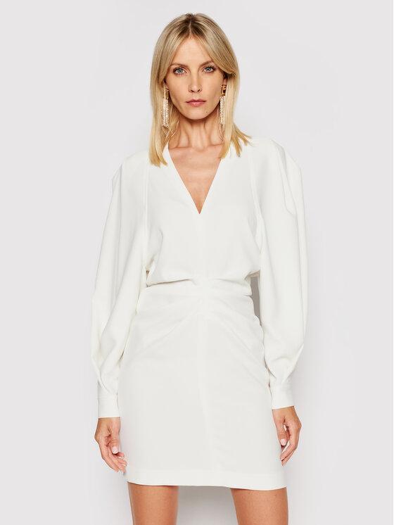 IRO Kokteilinė suknelė Jaden A0137 Balta Regular Fit