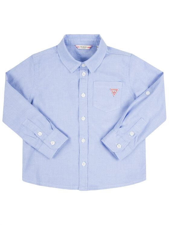Guess Guess Риза N01H00 W9CL0 Син Regular Fit