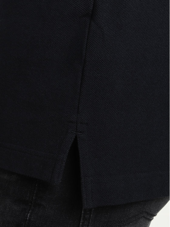 Tommy Jeans Tommy Jeans Polo Tjw Badge DM0DM07456 Czarny Regular Fit