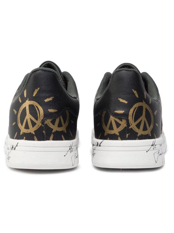 Desigual Desigual Сникърси Shoes Cosmic Exotic 19WSKP20 Черен