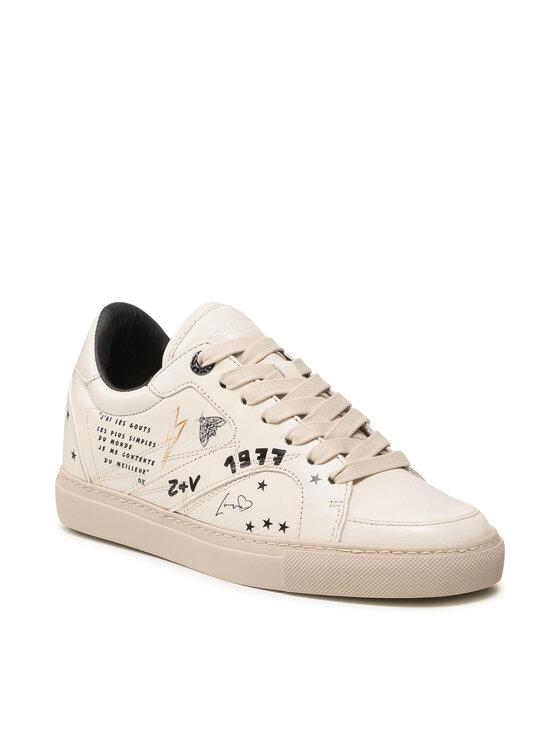 Zadig&Voltaire Laisvalaikio batai Board WKAM1705F Balta