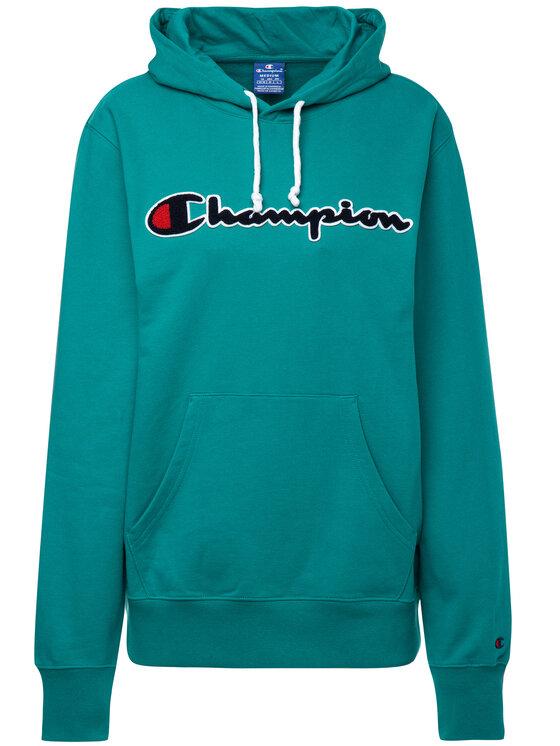 Champion Champion Суитшърт 212940 Зелен Regular Fit