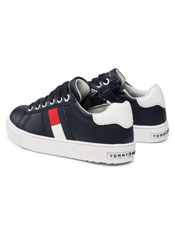 Tommy Hilfiger Tommy Hilfiger Sneakersy Low Cut Lace-Up Sneaker T3B4-30921-0900 M Granatowy