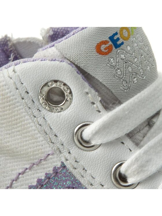 Geox Geox Kotníková obuv B Kiwi G. E B62D5E 01085 C0761 Bílá