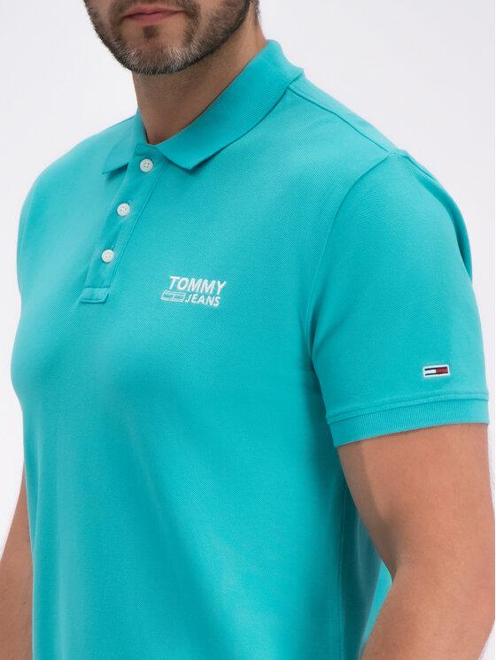 Tommy Jeans Tommy Jeans Pólóing DM0DM06683 Zöld Regular Fit
