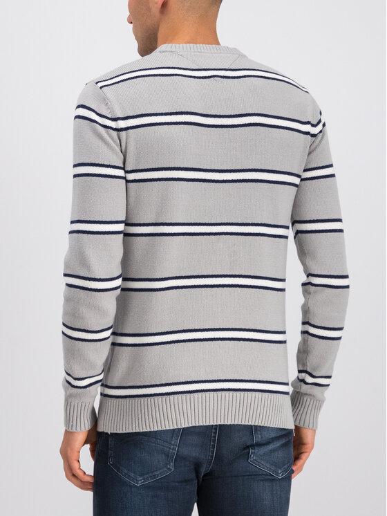 Tommy Jeans Tommy Jeans Sweter Tjm Fine DM0DM07001 Szary Regular Fit