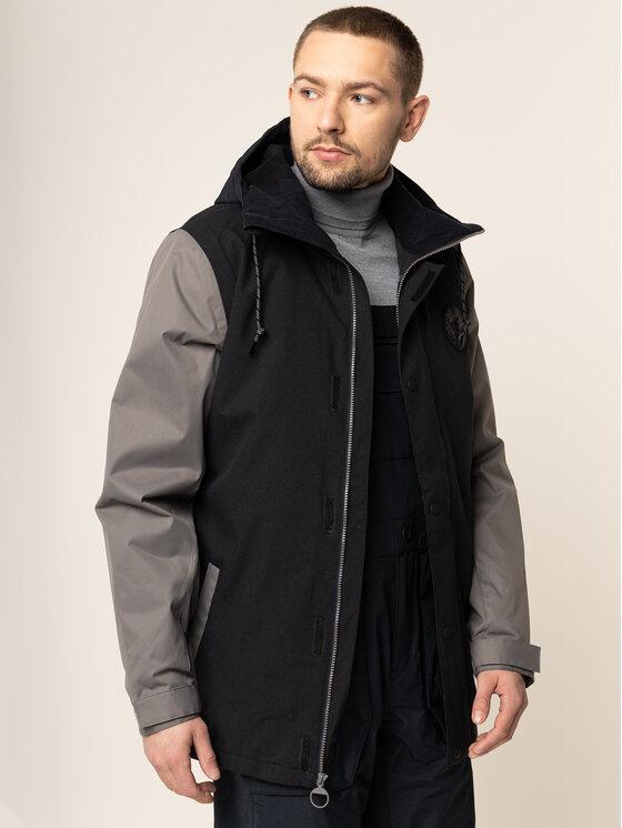 DC DC Snowboardová bunda EDYTJ03089 Černá Regular Fit