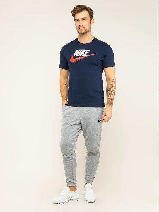 Nike Nike T-Shirt NSW AR4993 Granatowy Regular Fit