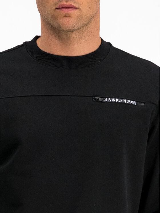 Calvin Klein Jeans Calvin Klein Jeans Pulóver J30J313678 Fekete Regular Fit