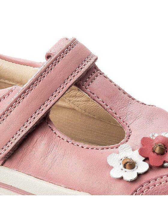 Clarks Clarks Halbschuhe Mini Blossom 261336466 Rosa
