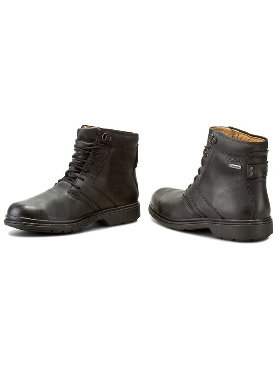 Clarks Clarks Μπότες Rockie Co Gtx 203184627 Μαύρο