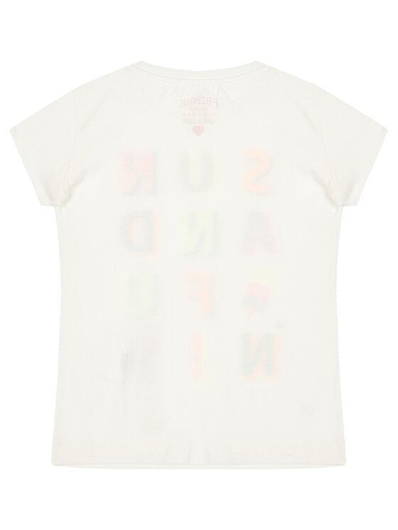 Primigi Primigi T-Shirt Sun&Fun 45222601 Bílá Regular Fit