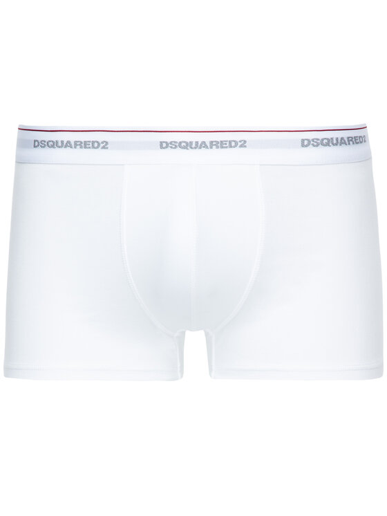 Dsquared2 Underwear Dsquared2 Underwear Σετ 3 ζευγάρια μποξεράκια DCXC60040 Λευκό