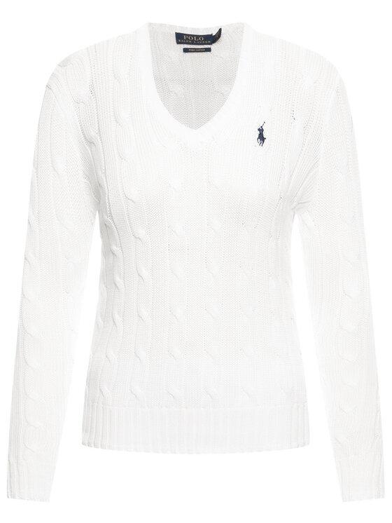 Polo Ralph Lauren Polo Ralph Lauren Pull Kimberly 211580008005 Blanc Regular Fit