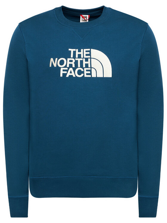 The North Face The North Face Bluza Drew Peak Crew NF0A4T1EBH71 Niebieski Regular Fit