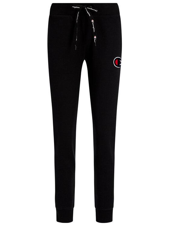 Champion Champion Spodnie dresowe Velvet 111969 Czarny Regular Fit