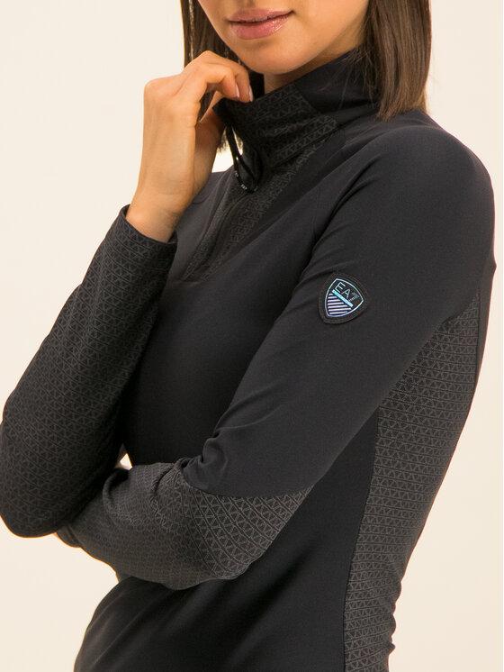 EA7 Emporio Armani EA7 Emporio Armani Sweatshirt 6GTM18 TJ46Z 1200 Noir Slim Fit