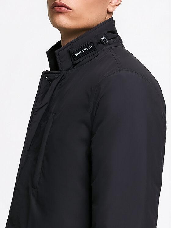 Woolrich Woolrich Преходно яке WOCPS2857 UT1157 Черен Regular Fit