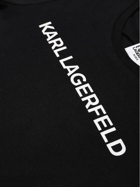 KARL LAGERFELD KARL LAGERFELD T-Shirt Z15222 M Czarny Regular Fit