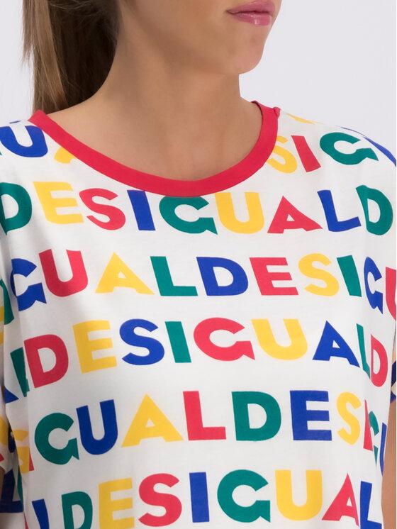 Desigual Desigual T-shirt Ramkey 19SWTKCG Multicolore Regular Fit