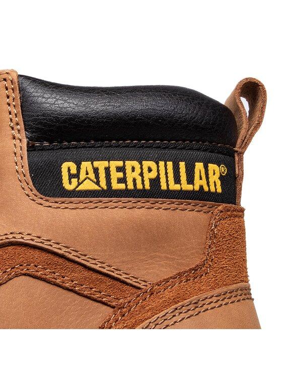 CATerpillar CATerpillar Trapery Stickshift P712705 Brązowy