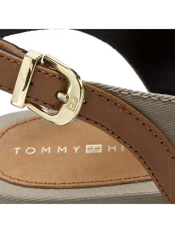 TOMMY HILFIGER TOMMY HILFIGER Σανδάλια Amy 52D FW56820750 Γκρι