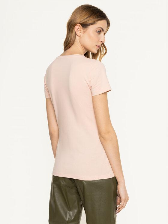 Trussardi Jeans Trussardi Jeans T-Shirt 56T00224 Rosa Slim Fit