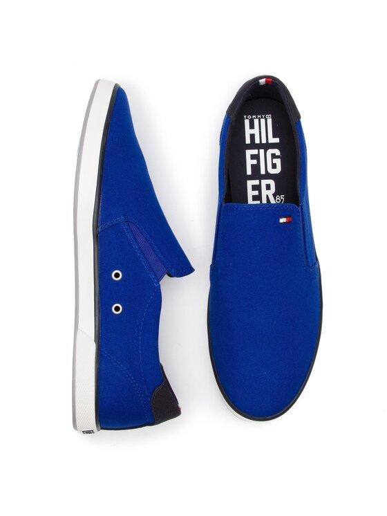 Tommy Hilfiger Tommy Hilfiger Πάνινα παπούτσια Iconic Slip On Sneaker FM0FM00597 Σκούρο μπλε