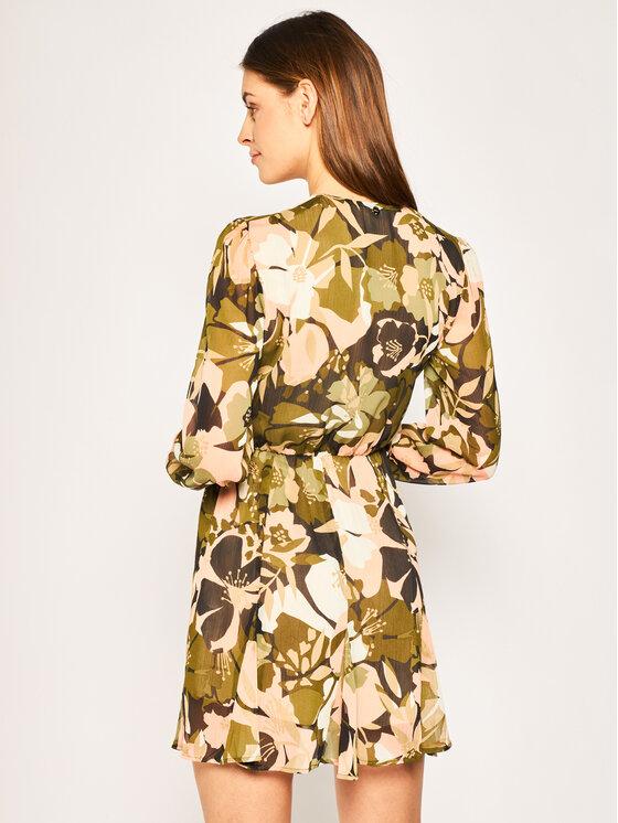 Liu Jo Liu Jo Sukienka koszulowa WA0148 T4165 Zielony Regular Fit