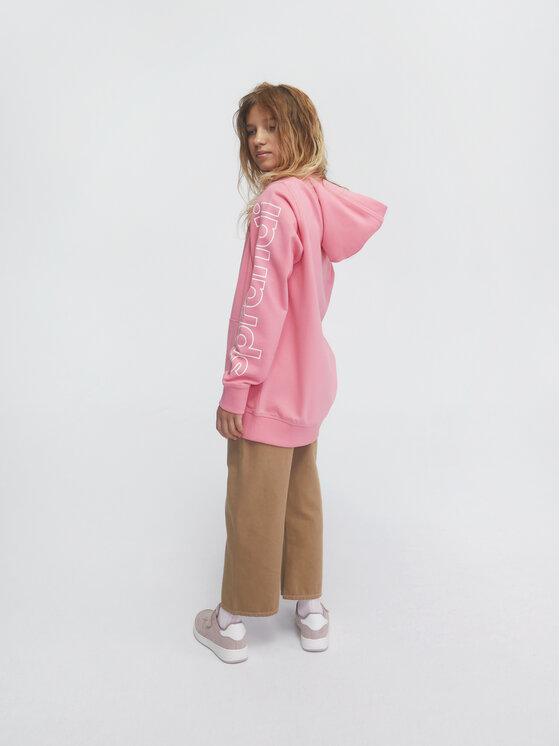 Sprandi Sprandi Bluza SS21-BLG002 Różowy Regular Fit