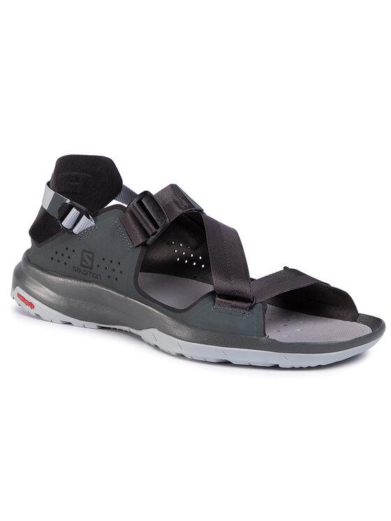 Salomon Salomon Sandały Tech Sandal 409761 Zielony