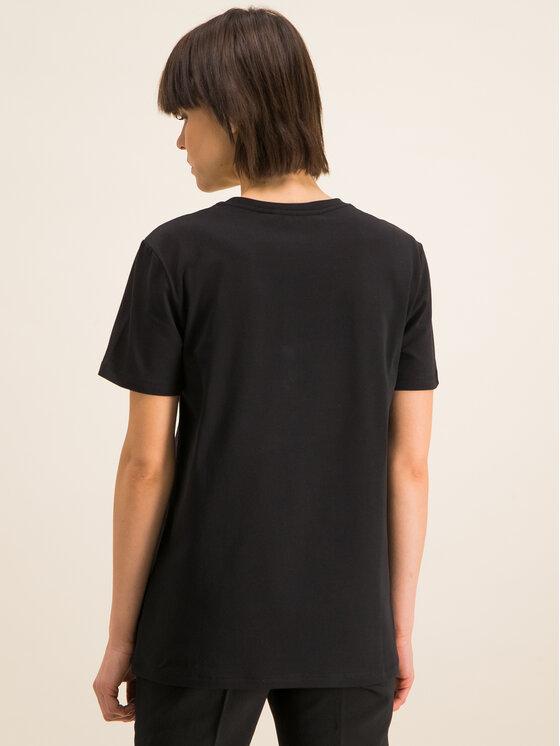 Iceberg Iceberg T-Shirt 20EI2P0F0926309 Schwarz Regular Fit