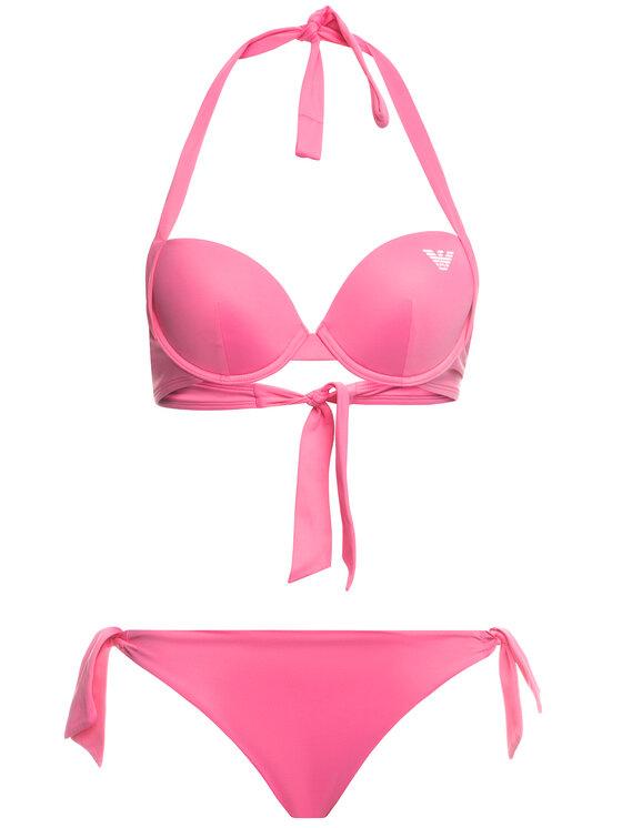 Emporio Armani Emporio Armani Bikinis 262479 0P313 00073 Rožinė