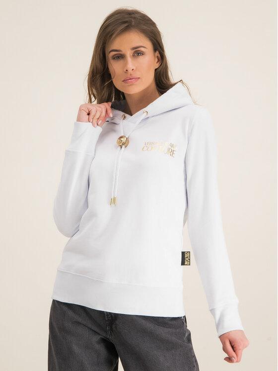 Versace Jeans Couture Versace Jeans Couture Mikina B6HVA778 Bílá Regular Fit