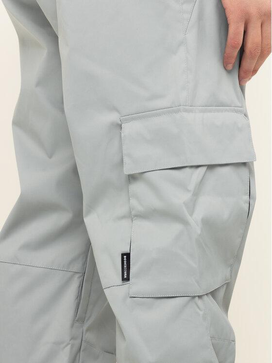 DC DC Pantaloni da snowboard Banshee EDYTP03047 Grigio Regular Fit
