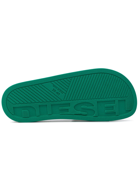 Diesel Diesel Mules / sandales de bain Sa-Valla Y01920 P0316 H7541 Vert