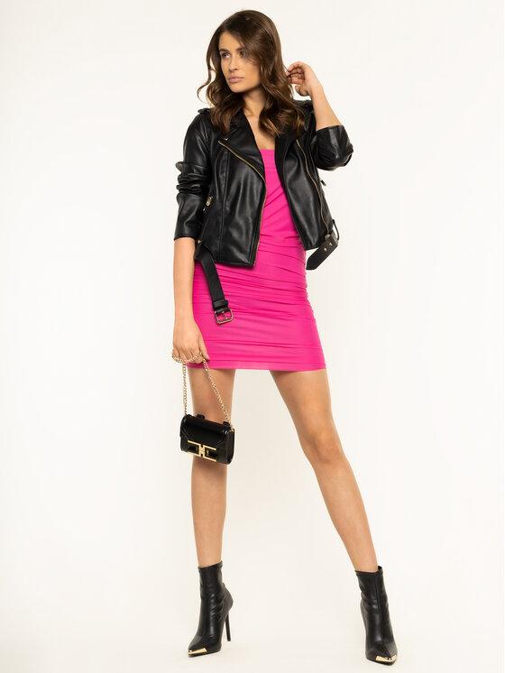 Pinko Pinko Φόρεμα κοκτέιλ Megaloman 20201 PBK2 1B14LA Y673 Ροζ Slim Fit
