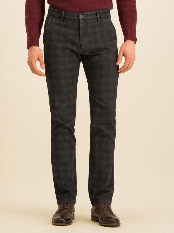 Bugatti Bugatti Текстилни панталони 4810 46340 Сив Slim Fit