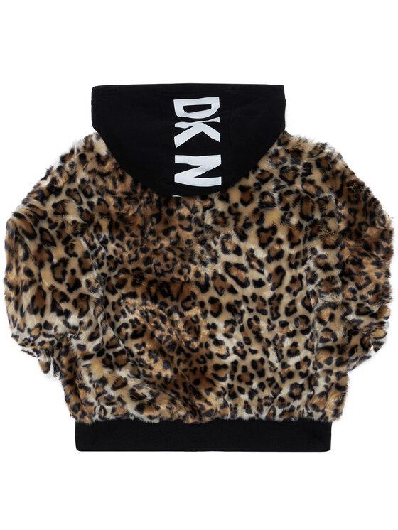 DKNY DKNY Átmeneti kabát D35R13 S Barna Regular Fit