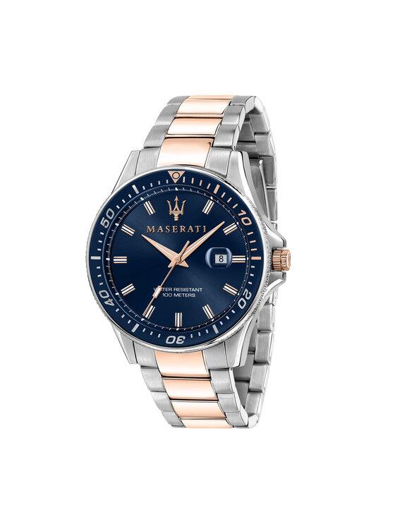 Maserati Laikrodis Sfida R8853140003 Sidabrinė