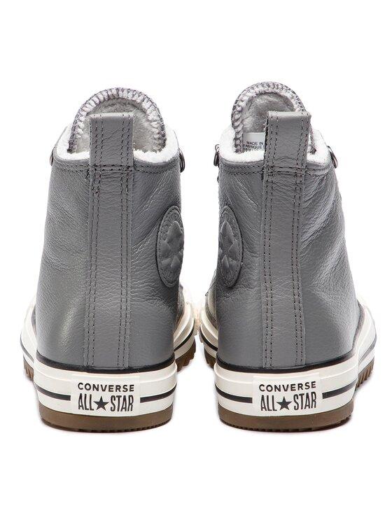 Converse Converse Сникърси Ctas Hiker Boot Hi 161513C Сив