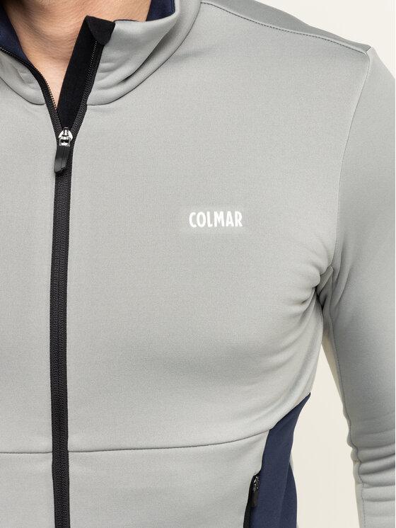 Colmar Colmar Μπλούζα τεχνική Zip-Up Thermal Ski 8377 9UE Γκρι Slim Fit