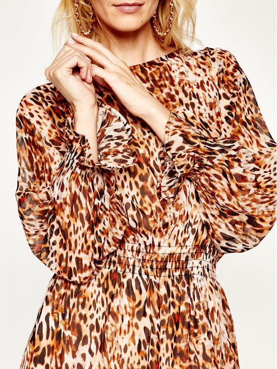 Liu Jo Beachwear Liu Jo Beachwear Φόρεμα καθημερινό VA0219 T5875 Καφέ Regular Fit